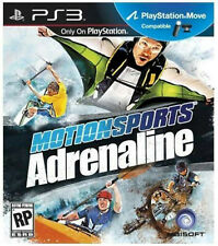 PS3 Motionsports: Adrenaline Sony PlayStation 3 Video Game 2011 MOVE COMPATIBLE