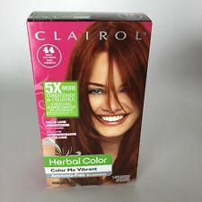 Clairol Herbal Essences Hair Dye Color Me Vibrant Deep Red #44 Permanent