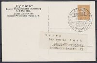 DR PP 106 C 12 / 02 Privat Ganzsache Essen Eposta mit SST 08.05.1932, GA