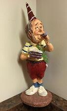 Doug harris happy birthday old man figurine resin