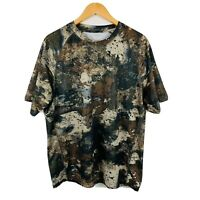 Cabelas Mens Camouflage T Shirt Size Large Good Condition Short Sleeve Classic