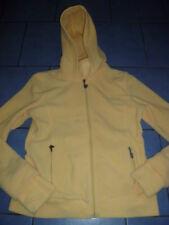 schöne Damen Jacke Fleece Jacke gelb von URBAN SURFACE Gr. L 40 Kapuze Kragen