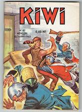 KIWI n°87 – Editions LUG - Juillet 1962 –TBE/NEUF