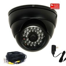 700TVL with SONY Effio CCD Wide Angle IR Night Security Camera & Cable Power c81
