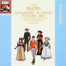 Martha (Auszüge) von Rothenberger, Wunderlich | CD | Zustand gut