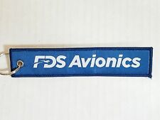 FDS Avionics / Remove Before Flight Tag Keychain NEW Military