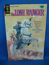 THE LONE RANGER 21 VF+ GOLD KEY 1975