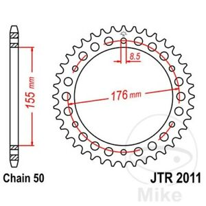 JT Rear Sprocket 43T 530P JTR2011.43 Steel Triumph Speed Triple 1050 2008