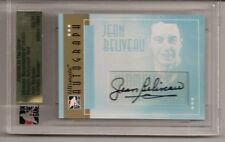 2005-06 ITG Ultimate Memorabilia Autograph GOLD Jean Beliveau 03/10