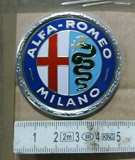 logo fregio stemma alfa romeo milano