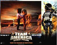 Kino # US-Lobby-Cards # Team America # 2004 # neu # 8 Fotos