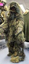Armée britannique sas style enfants combinaison ghillie in woodland camo taille enfant s/m