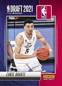 2021-22 Panini Instant NBA Draft Night Chris Duarte PRESALE