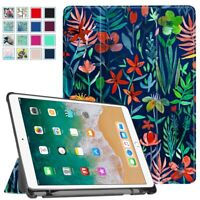 """For iPad Air 10.5"""" 3rd Gen 2019 SlimShell Case Cover Stand w/Apple Pencil Holder"""