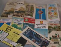 VINTAGE ROAD MAPS, NORTHEAST AND NEW ENGLAND, 1960s, 1970S, 1980s, you choose