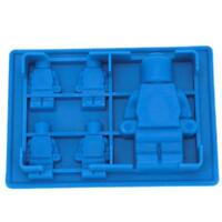 Novelty Robot Style Ice Cube Tray Freeze Mould Jelly Pudding Chocolate Mold - 6A