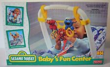 Fisher Price Sesame Street BABY'S FUN CENTER 1998 NOS original box Cookie Ernie
