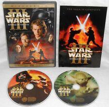 Star Wars Episode III: Revenge of the Sith (DVD, 2005, 2-Disc Set, Widescreen)