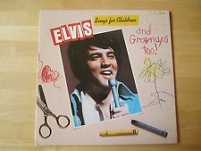 Elvis Presley LP, Elvis Sings For Children & Grownups Too!   Greeting Card