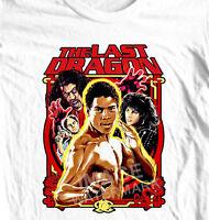 The Last Dragon T-shirt retro 1980's movie 100% cotton graphic tee karate