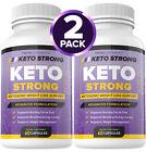 Внешний вид - Keto Strong Pills Advanced Weight Loss Diet 800mg Keto Burn GT BHB Ketones 2PACK