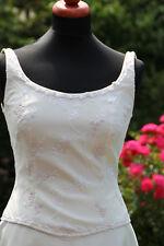 Gereinigtes Lilly Brautkleid (Hochzeitskleid) Gr. 36 - ivory