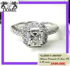 ♛ PROMO GRACIEUSE ALLIANCE BAGUE OR B 18K 750 Réf: lv 08899 SOLITAIRE CT 4890E ♛