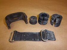 1995 Suzuki RM125 Rubber odd parts lot strap mounts etc. 95 RM 125