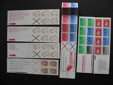 NETHERLANDS 7 different used booklets, worth checking out! PLZ read description