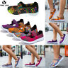 Women's Summer Sport Slip On Elastic Flat Shoes Breathable Casual Sandals Sizes