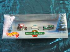 Mattel Hot Wheels 3 Vintage Hot Rods Cars Die-cast metal.