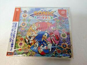 Sonic Shuffle Dreamcast Sega DC Japan Brand NEW
