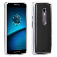CASEMATE NAKED TOUGH TRANSLUCENT CLEAR DUAL LAYER SLIM CASE FOR  DROID MAXX 2