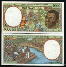 CENTRAL AFRICAN STATES CAMEROON 1000 FRANCS P202E 1994 CAMEROUN UNC MASK 3 NOTE