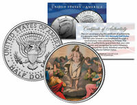 JESUS CHRIST * RESURRECTION * JFK Kennedy Half Dollar U.S. Colorized Coin
