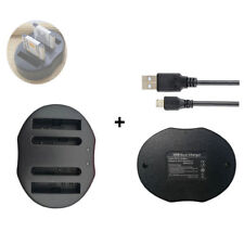 NP-BN1 Battery DUAL Charger for Sony Cyber-Shot DSC-W690 /W710 DSC-W730 /W800
