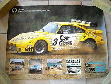 Poster Porsche 930 - Rallycross - 1987