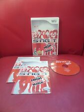 Disney Sing It: High School Musical 3 - Senior Year (Nintendo Wii, 2009)