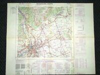 Grande carta topografica Bassano del Grappa Vicenza Veneto Dettagliatissima IGM