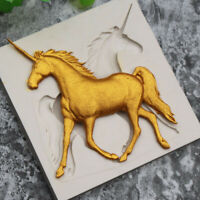 3D Unicorn Horse Silicone Fondant Mold Cookie Mould DIY Cake Decorating Tool