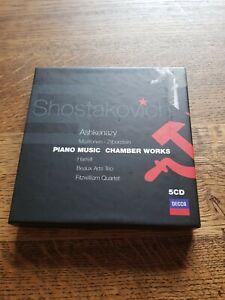 Piano Music Chamber Works Shostakovich Ashkenazy