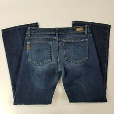 PAIGE Premium Denim LAUREL CANYON Women's Med Wash Jeans Size 30 (30 X 28 3/4)