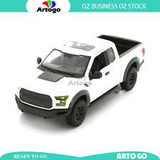 Special Edition 2017 Ford F-150 Raptor WHITE scale 1:24 model car diecast toy