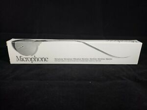 Vintage 1990 APPLE Computer Microphone - New, Old Stock