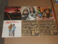 KENNY LOGGINS & JIM MESSINA lot 6x LP one more mile THE BEST OF stage ADVENTURE