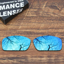 T.A.N Polarized Replacement Lenses for - Costa Del Mar Fantail Blue Mirrored