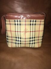 Burberry Haymarket Tote Small Excellent Condition