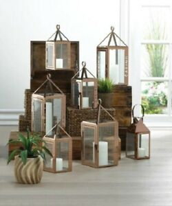 Stainless Steel Tabletop Candle Lanterns For Sale In Stock Ebay