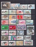 Frankreich 1972 postfrisch Jahrgang siehe Bild