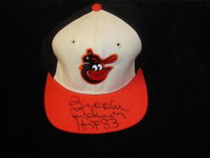 Brooks Robinson HOF 83 Orioles Autographed Baseball Hat / Cap w/ hologram